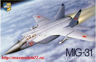 KO7209   MiG-31B Soviet interceptor (thumb25673)