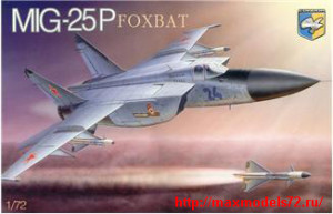 "KO7212   Mig-25P ""Foxbat"" Soviet interceptor (thumb25677)"