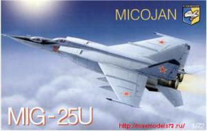 KO7213   Mig-25PU Soviet training battle interceptor (thumb25679)