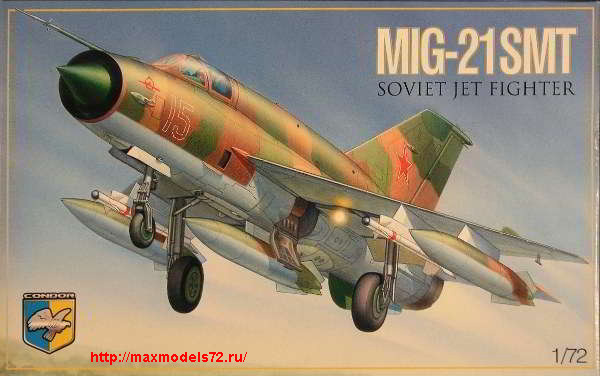 KO7214   MiG-21 SMT Soviet multipurpose fighter (thumb25681)