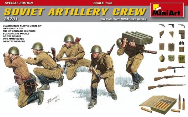MA35231   Soviet artillery crew. Special edition (thumb26853)