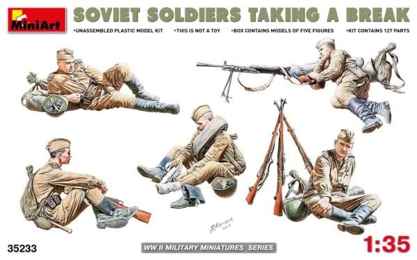MA35233    Soviet Soldiers taking a break (thumb26864)