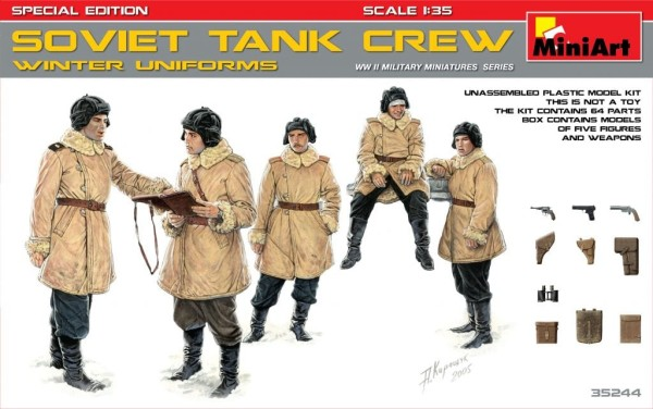MA35244   Soviet tank crew (Winter uniforms). Special edition (thumb26899)