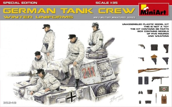 MA35249   German tank crew (Winter uniforms). Special edition (thumb26912)