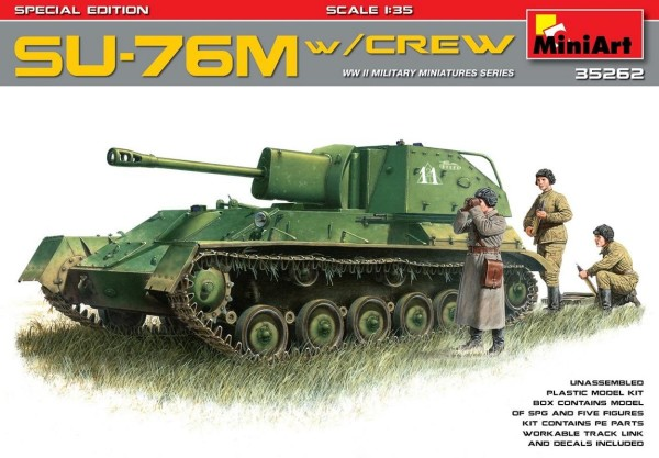 MA35262   SU-76M with crew. Special edition (thumb26945)