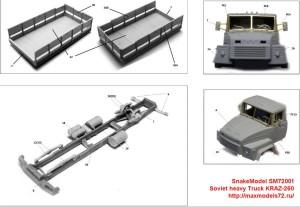SM72001   Soviet heavy Truck KRAZ-260 (attach6 31883)