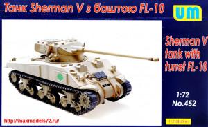 UM452   Sherman V tank with turret FL-10 (thumb25701)