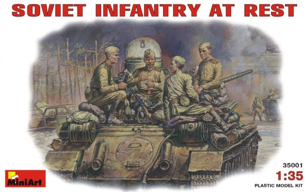 MA35001   Soviet infantry at Rest (1943-45) (thumb26003)