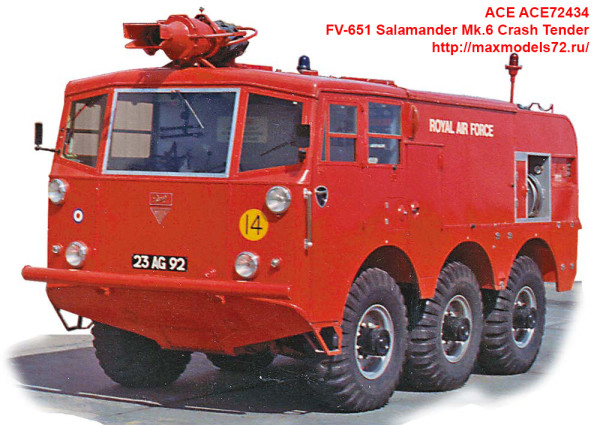 ACE72434   FV-651 Salamander Mk.6 Crash Tender (thumb39551)