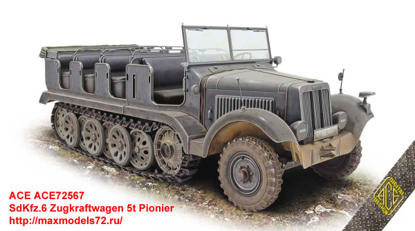 ACE72567   SdKfz.6 Zugkraftwagen 5t Pionier (thumb35892)