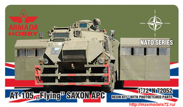 "AMN72052   AT-105 ""Flying"" SAXON APC (Riot Police) (thumb27682)"