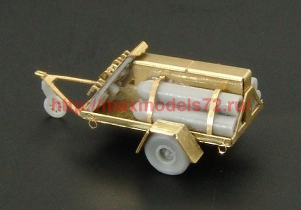 BRS144008   U.S.NAVY Oxygen cart (2pcs) (thumb35635)