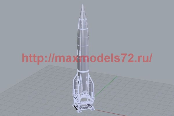 BRS144035   German rocket V-2 / A4 (thumb35743)