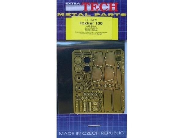 EX14409 FOKKER 100 (REVELL) (thumb28023)