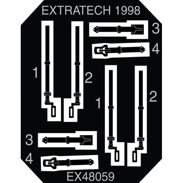 EX72059 USAAF WW2 BELTS AND BUCKLES (thumb28173)