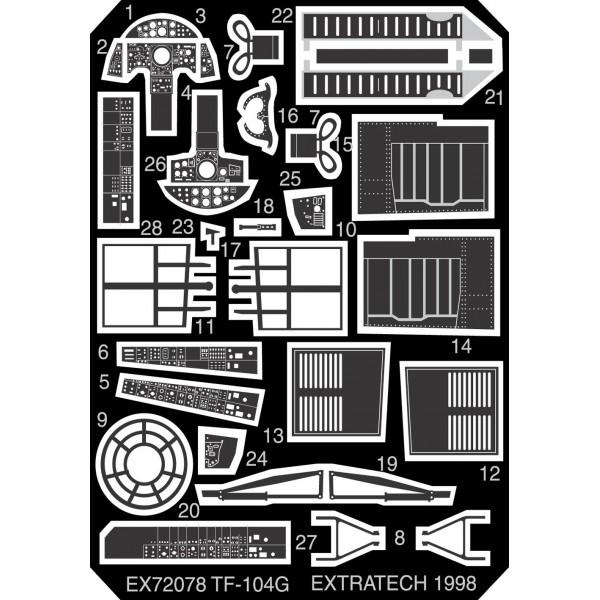 EX72078 LOCKHEED TF-104G (REVELL) (thumb28198)