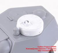 GP#019   Командирские башенки Т-34/76 (3шт)   Commander's cupola for Т-34/76 (3 pcs) (attach1 27608)