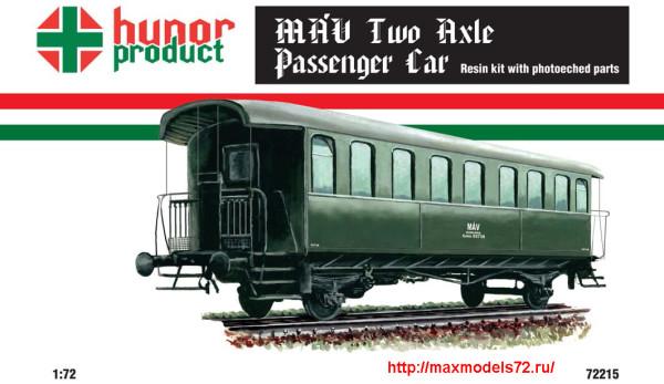 HP72215   MAV Two Axle Passenger Car (thumb27709)