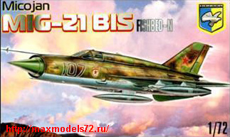 KO7201   MiG-21 BIS Fishbed-N Soviet fighter (thumb25659)
