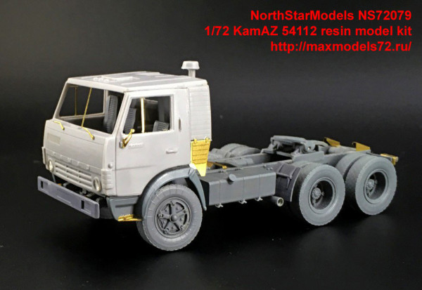 NS72079   1/72 KamAZ 54112 resin model kit (thumb35988)