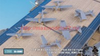 TetraSA-35007   1/350 IJN Aircraft Carrier Ship Plane Set I for Fujimi (D3A1 Val, B5N2 Kate, A6M2 Zero) (attach1 36918)