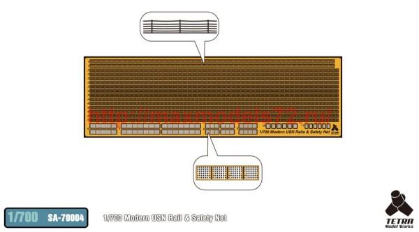 TetraSA-70004   1/700 Modern USN Rail & Safety Net (thumb36971)