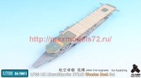 TetraSA-70011   1/700 IJN AircraftCarrier Ryujo After 2nd Upgrade Wooden Deck for Aoshima (attach5 36996)