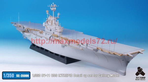 TetraSE-35006   1/350 CV-11 USS INTREPID Detail up set for Gallery Model (thumb36586)