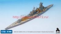 TetraSE-70004   1/700 IJN HARUNA 1944. 6 / 10 Detail up set w/ Barrel & Wooden Deck for FUJIMI (attach1 36660)