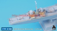 TetraSE-70009   1/700 IJN Destroyer Mutsuki Class Detail up set For Pit-road (attach2 36706)