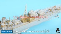 TetraSE-70010   1/700 IJN Destroyer Kagero 1941 Detail up set For Pit-road (attach2 36713)