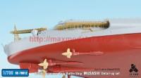 TetraSE-70012   1/700 IJN Battleship Musashi Detail up set for Fujimi NEXT002 (attach7 36735)