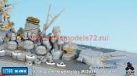 TetraSE-70012   1/700 IJN Battleship Musashi Detail up set for Fujimi NEXT002 (attach8 36735)