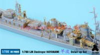 TetraSE-70023   1/700 IJN Destroyer Hayanami for Hasegawa (attach3 36856)