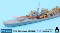 TetraSE-70023   1/700 IJN Destroyer Hayanami for Hasegawa (attach6 36856)
