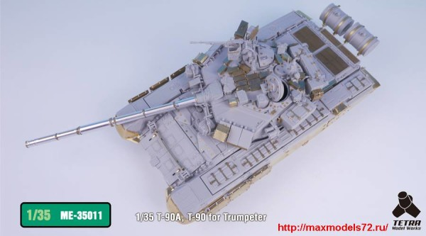 TetraME-35011   1/35 T-90A, T-90 for Trumpeter (thumb33205)