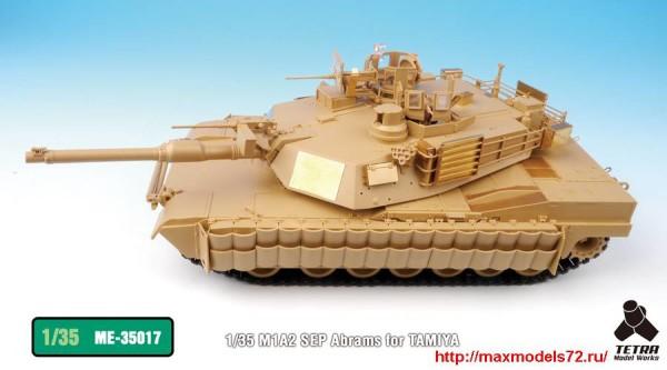 TetraME-35017   1/35 M1A2 SEP Abrams for TAMIYA (thumb33235)
