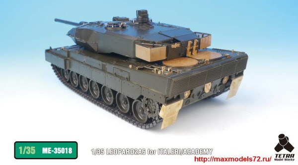 TetraME-35018   1/35 LEOPARD2A6 for ITALERI/ACADEMY (thumb33242)