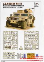 TM7202   U.S.HMMWV M1114 w/GPK turret (attach1 27422)