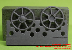 OKBS48063   Idler wheel for Pz.IV, ausf F, F2 and G (6 per set) (thumb27307)