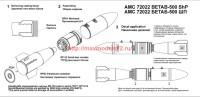 АМС 72022   БЕТАБ-500ШП бетонобойная бомба (в комплекте две бомбы). (attach1 37535)
