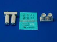 АМС 72024   РБК-500 ШОАБ-05 разовая  бомбовая кассета снаряженная шариковыми осколочными авиабомбами (в комплекте две кассеты). (attach3 37555)
