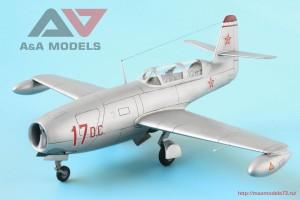 "AAM4802   Yak-23 DC ""Dubla Comanda"" training fighter (attach4 32542)"