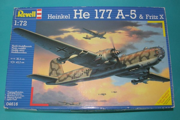 Revell04616   Heinkel He 177A-5 & Fritz X (thumb28643)