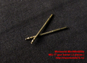 MiniWA4859a   MG-17 gun barrel ( 2 pieces ) (attach2 32406)