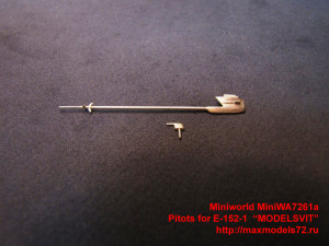 """MiniWA7261a   Pitots for E-152-1  """"MODELSVIT"""" (thumb32375)"""