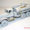 OGURETS720025   АЦ-8.5-255Б Краз топливозаправщик. Защита бревнами (attach5 32275)