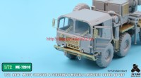 TetraME-72010   1/72 NATO M1001 Tractor & Pershing II Missile Launcher Detail up set  for Modelcollect (attach6 34054)