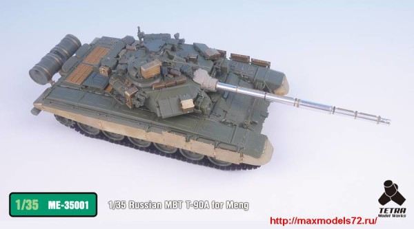 TetraME-35001   1/35 Russian MBT T-90A for Meng (thumb33174)