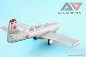 "AAM4802   Yak-23 DC ""Dubla Comanda"" training fighter (attach3 32542)"
